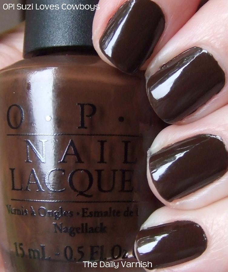 Opi Suzi Loves Cowboys The Daily Varnish