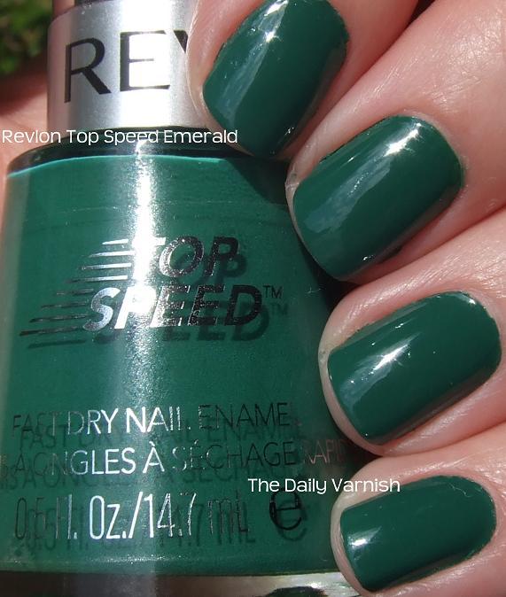 Revlon Top Speed Emerald – The Daily Varnish