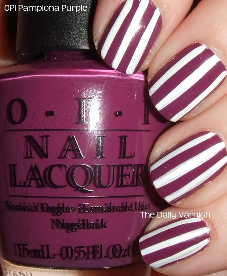 Nail Art: Stripes!