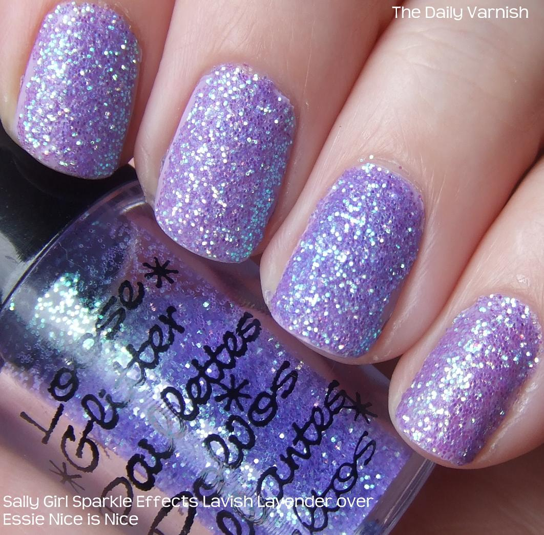 Shimmer And Sparkle Nail Polish: DIY: Glitter Nails