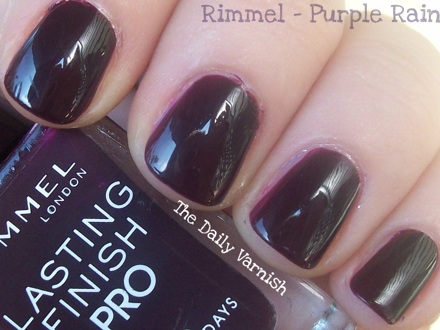 Rimmel – Purple Rain – The Daily Varnish