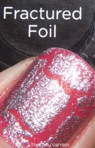 Sally Hansen Crackle Overcoat Fractured Foil The Daily Varnish