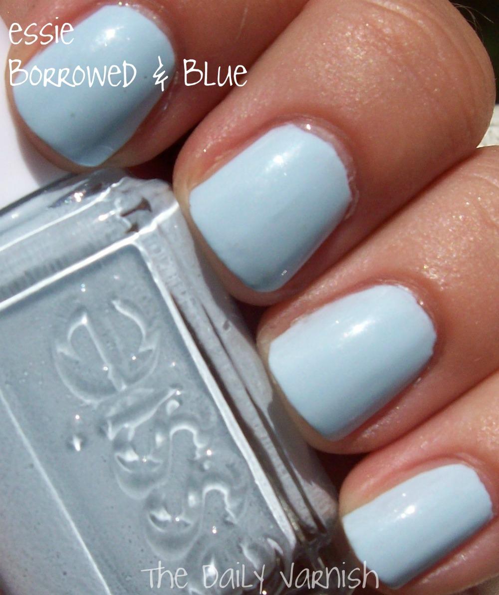 essie – Borrowed & Blue | The Daily Varnish