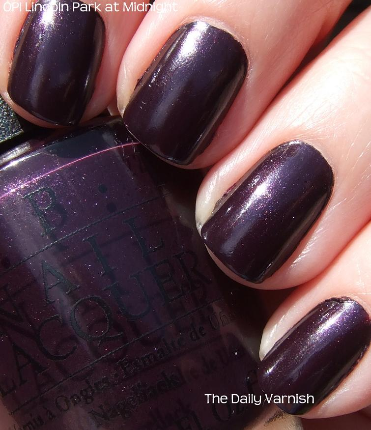 Easing Into Fall Opi Lincoln Park At Midnight The Daily