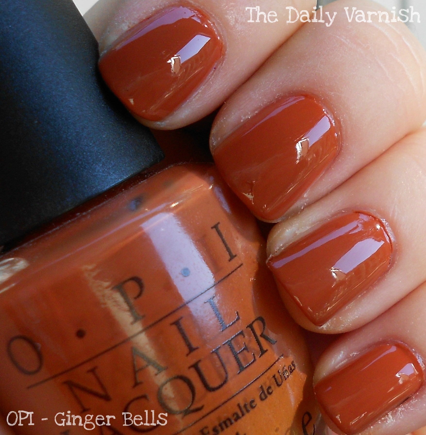 Fall Favorite: OPI Ginger Bells – The Daily Varnish