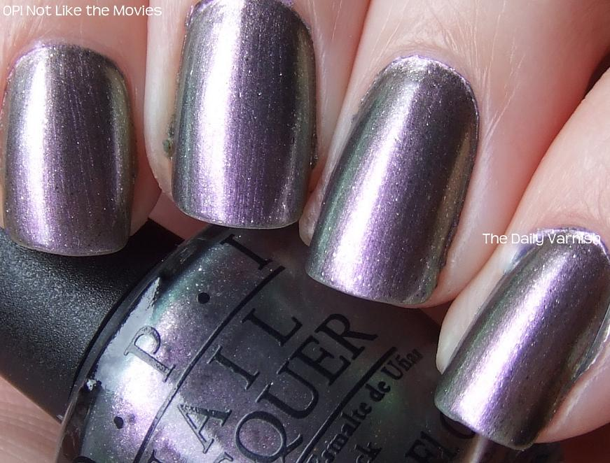 Fall Metallics: OPI Not Like the Movies – The Daily Varnish