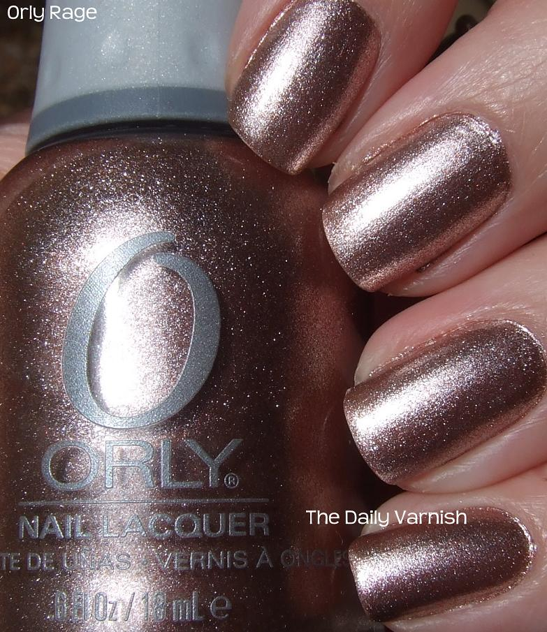 Fall Metallics: Orly Rage – The Daily Varnish