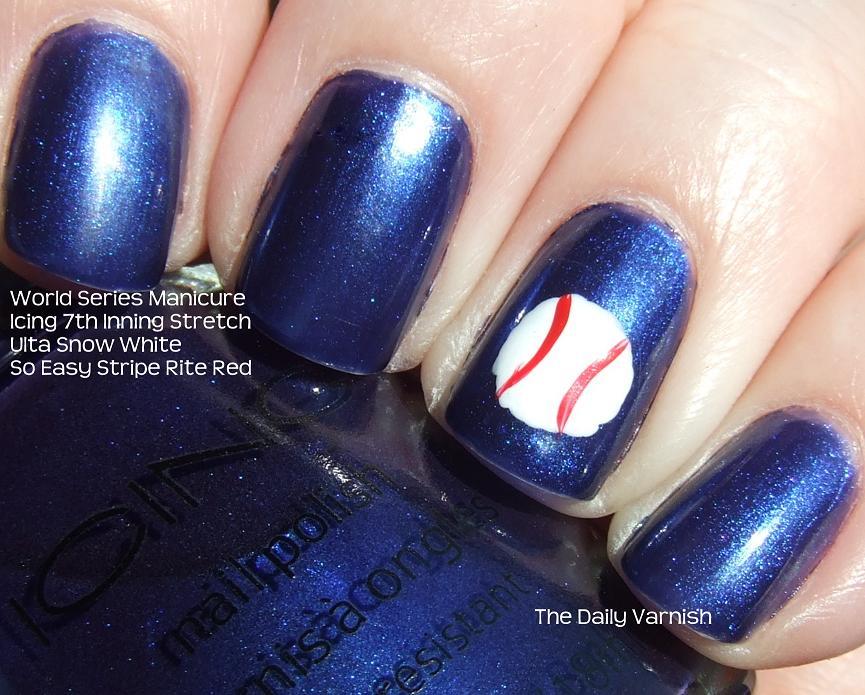 Nail Art: World Series Manicure! | The Daily Varnish