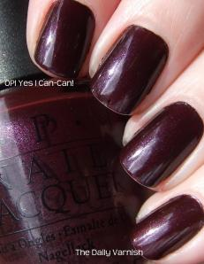 Fall Favorite: OPI Yes...I Can-Can!