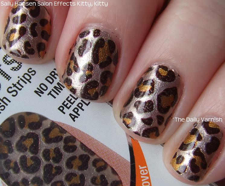 Trend To Try: Sally Hansen Salon Effects Nail Polish Strips