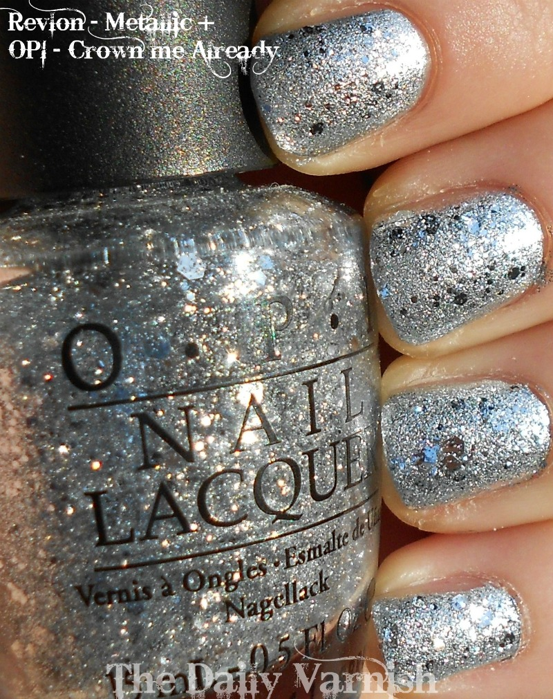 Holiday Sparkle: OPI – Crown Me Already!   The Daily Varnish