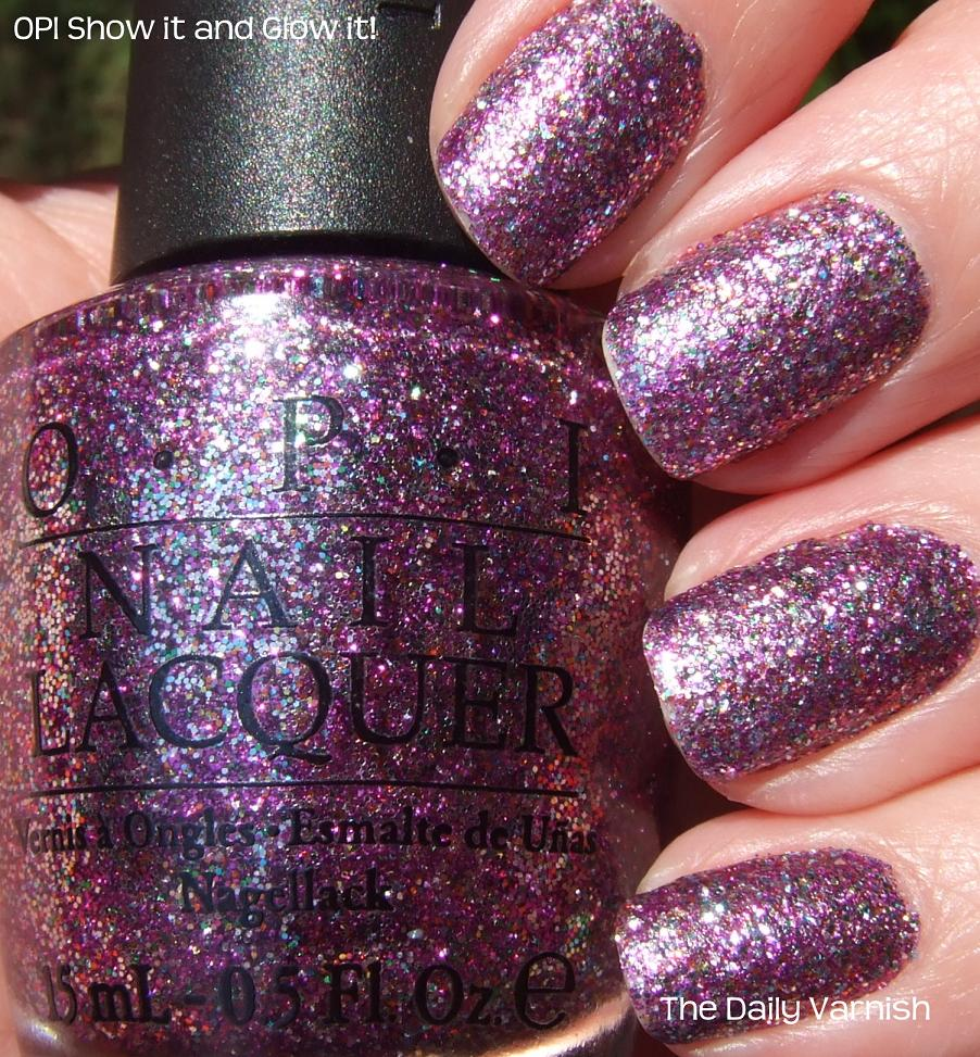 Shimmer And Sparkle Nail Polish: The Daily Varnish