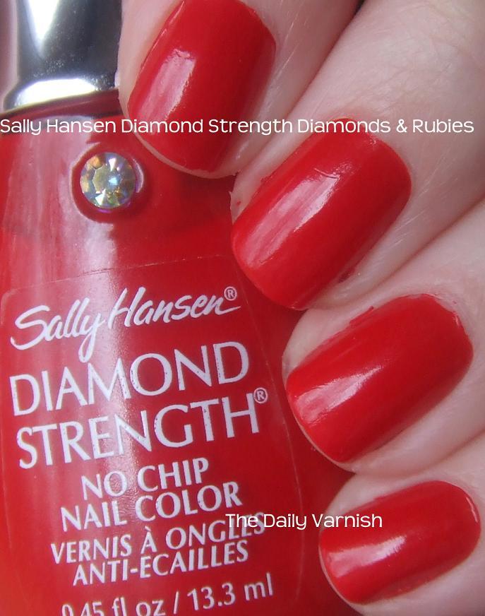 Sally Hansen Diamond Strength Diamonds & Rubies – The Daily Varnish