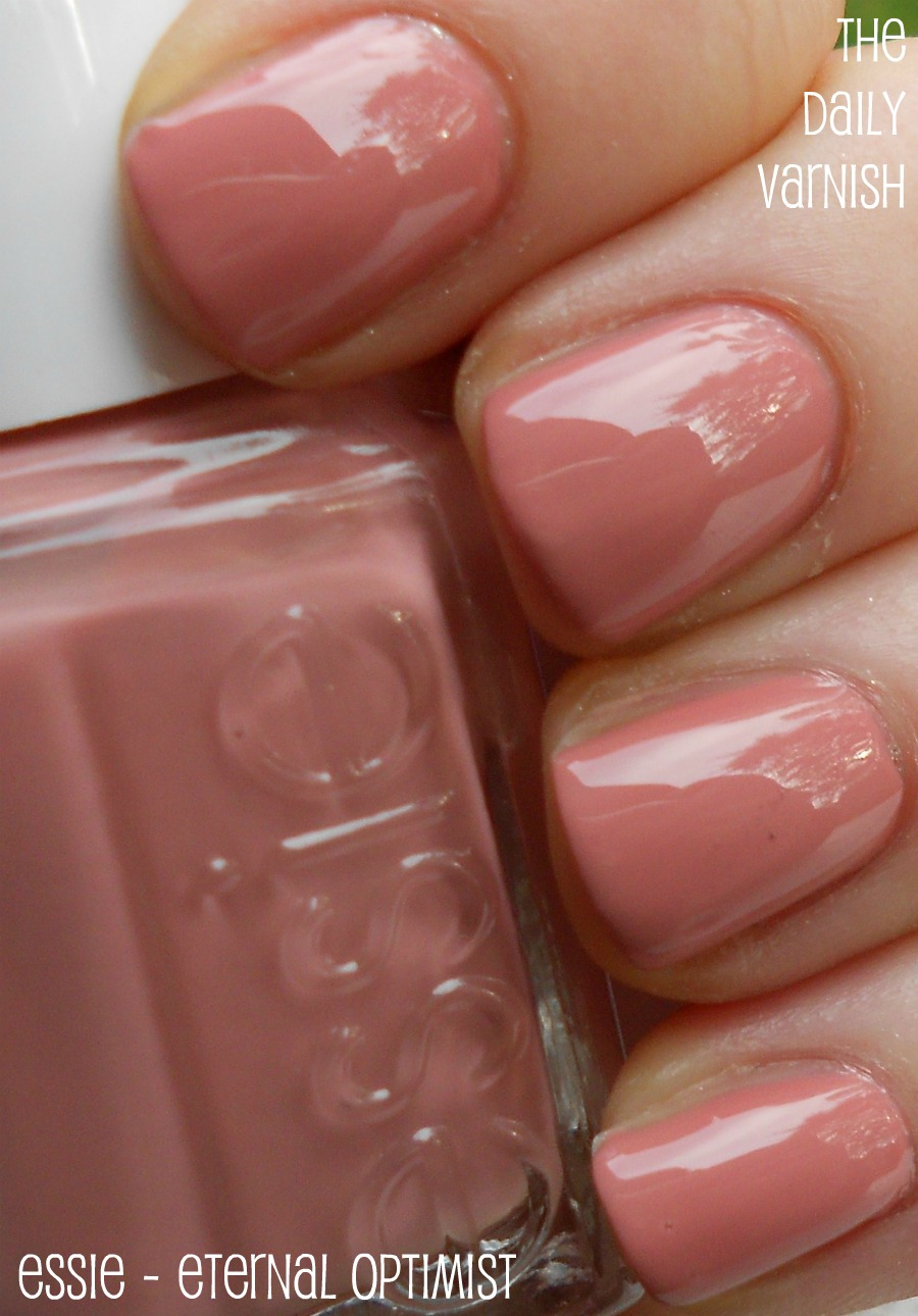 Essie Pale Pink Comparison Ballet Slippers Minimalistic: The Daily Varnish