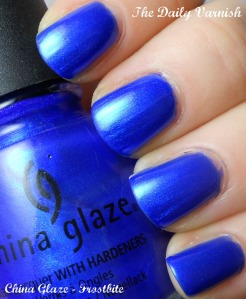 Super Bowl XLVI Manicure: China Glaze - Frostbite