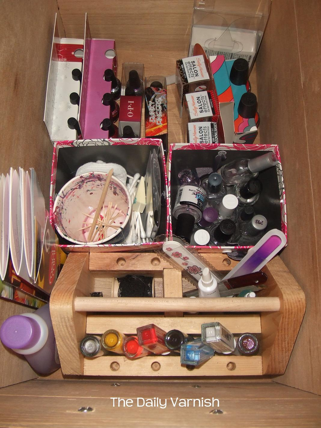 Nail Polish Storage and Organization 2012 | The Daily Varnish