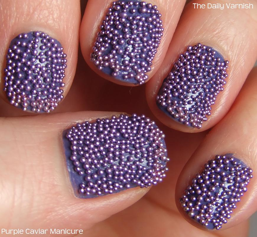 DIY Caviar Manicure – The Daily Varnish
