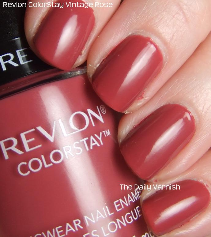 Revlon Nail Polishes: The Daily Varnish
