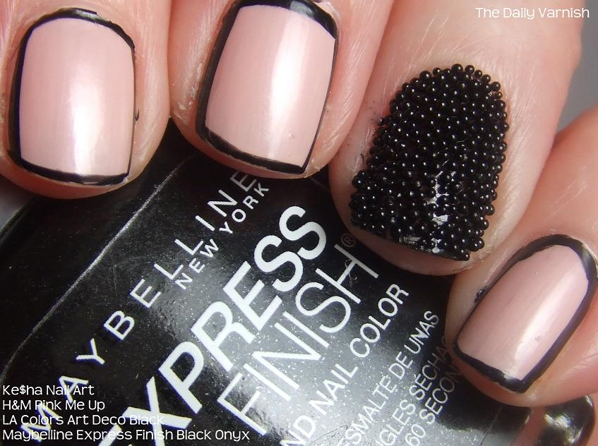 Celeb Nails: Ke$ha\'s Super Trendy Manicure – The Daily Varnish