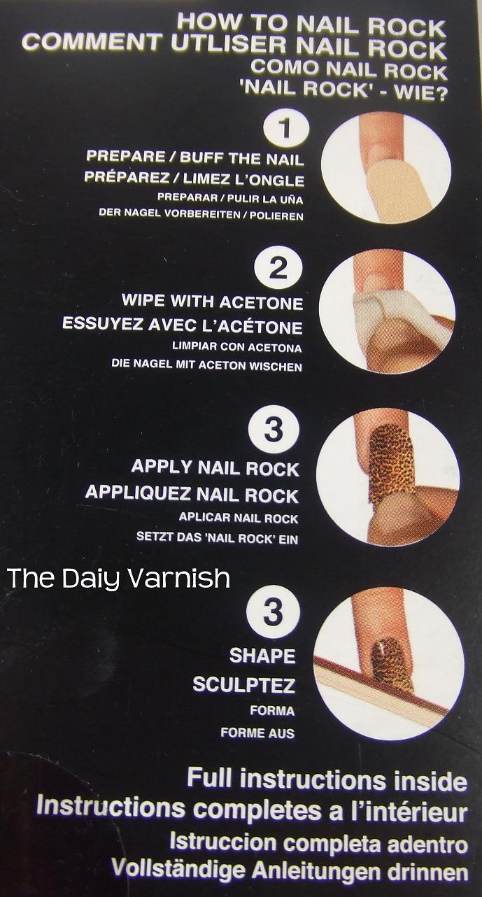 Nail Rock Designer Nail Wraps Blue And Gold Stars The Daily Varnish