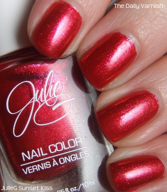 JulieG Sunset Kiss – The Daily Varnish