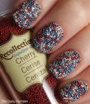 Patriotic Caviar Manicure