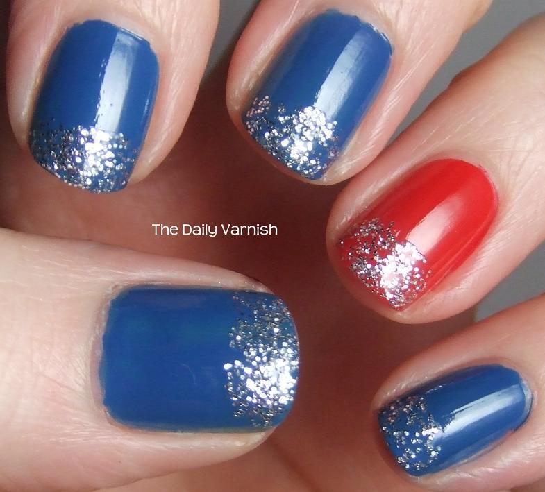 Nail Art Patriotic Nail Ideas The Daily Varnish