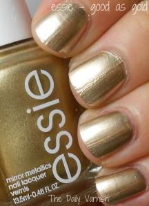 essie - good as gold