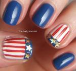 Missy Franklin Nails