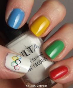 Olympic Nail Art 2