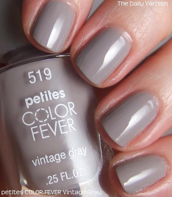 petites COLOR FEVER Vintage Gray – The Daily Varnish