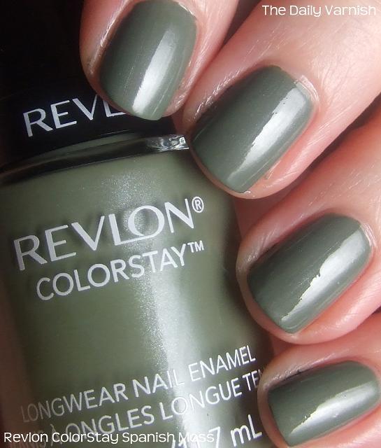 Revlon ColorStay Spanish Moss – The Daily Varnish