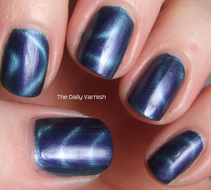 Sally Hansen Magnetic Nail Color Ionic Indigo | The Daily Varnish