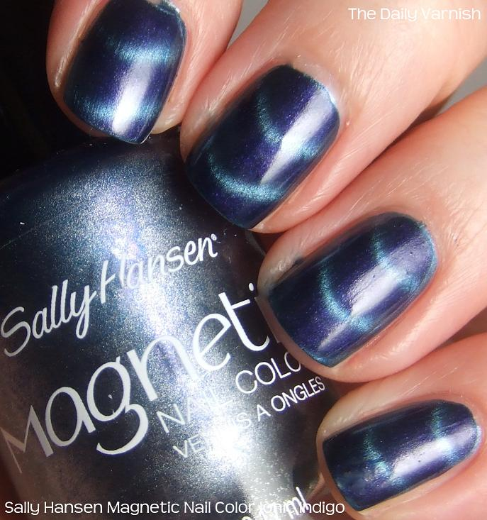 Sally Hansen Magnetic Nail Color Ionic Indigo – The Daily Varnish