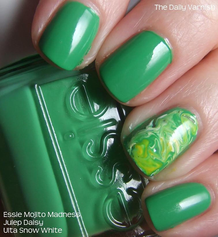 Nail Art Swirls The Daily Varnish