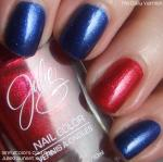 Allison Schmitt and Elizabeth Beisel Olympic Nails