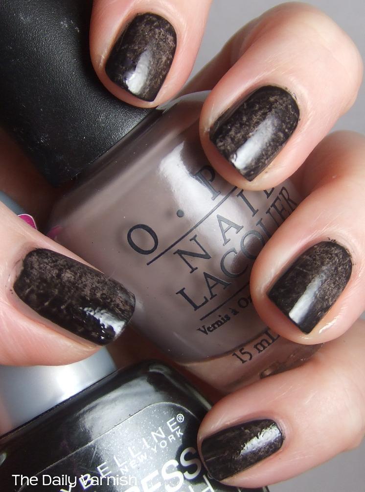 Diy nail polish strips the daily varnish diy plastic wrap manicure solutioingenieria Gallery