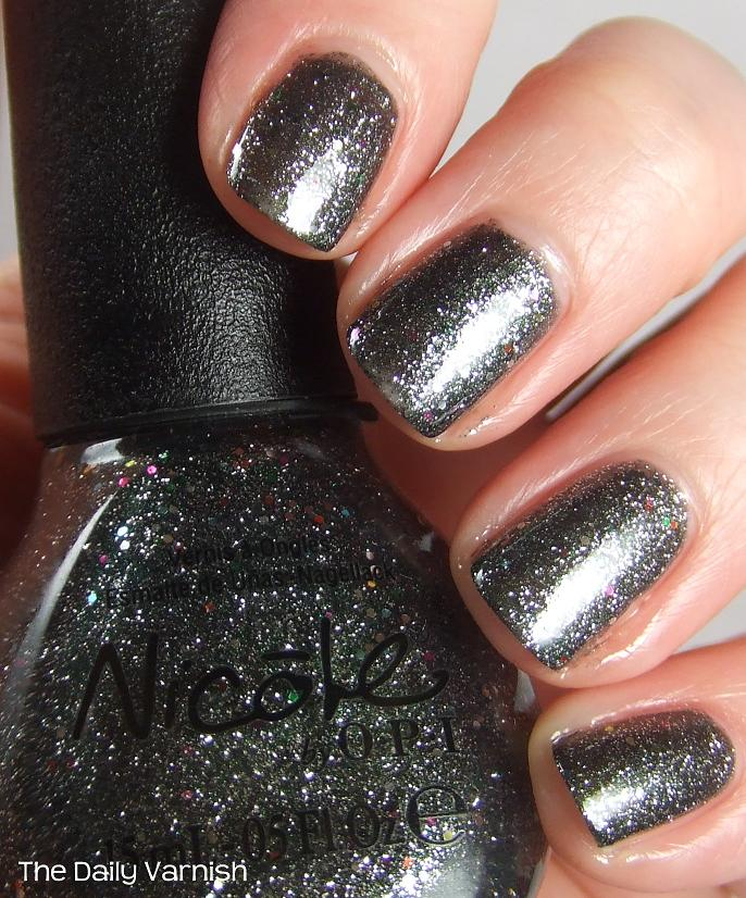 Nicole by OPI Follow Me on Glitter (+ giveaway!) | The Daily Varnish