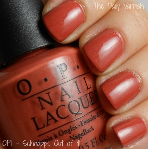 OPI - Schnapps Out of It!