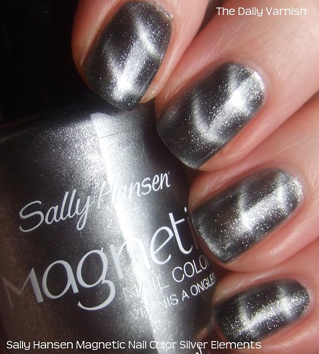 Sally Hansen Magnetic Nail Color Silver Elements – The Daily Varnish