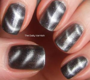 sally hansen mag ic nail color silver elements the