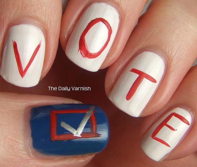 Nail Art: Election Nail Ideas!