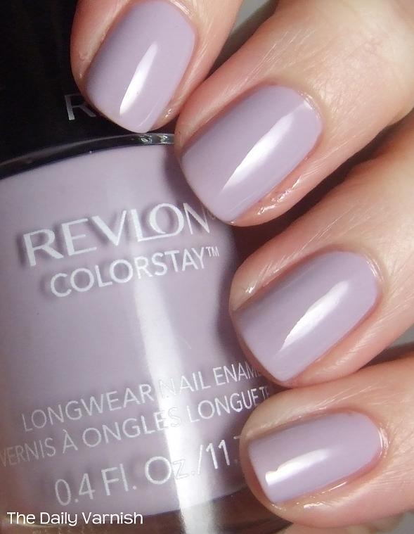 Wear Test: Revlon ColorStay Longwear Nail Enamel | The Daily Varnish