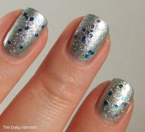 Nail Art Winter Frost 3