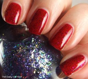 NYC Broadway Burgundy SinfulColors Faceted 2