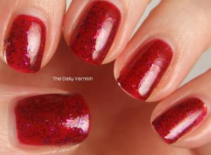 NYC Broadway Burgundy SinfulColors Faceted 3