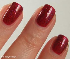 NYC Broadway Burgundy SinfulColors Faceted 4