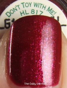 OPI Don't Toy With Me 4