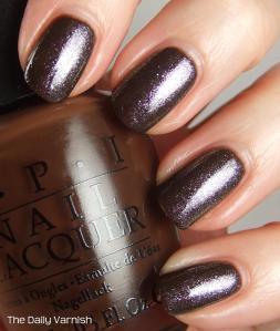 OPI Suzi Loves Cowboys OPI The World is Not Enough 4