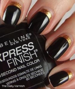 Ruffian Manicure shiny
